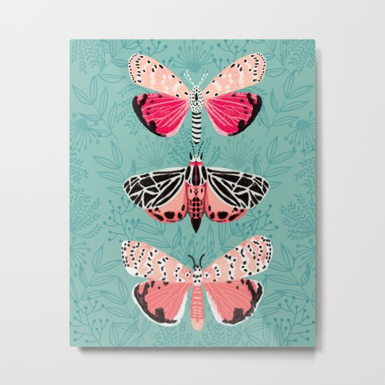 Lepidoptery No. 6 by Andrea Lauren Metal Print