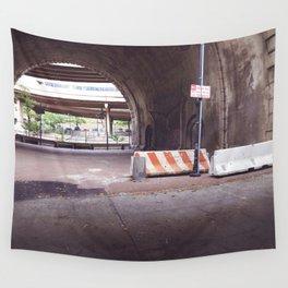 Under the Brooklyn Bridge, a Shutdown Skatepark Wall Tapestry