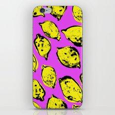Pop art lemons iPhone Skin