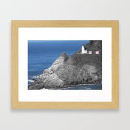 Oregon Coast Framed Art Print