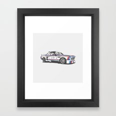 BMW CSL Turbo Framed Art Print