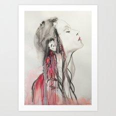 Vampires are lucky Art Print