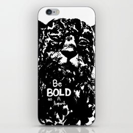 Bold As A Leopard iPhone Skin