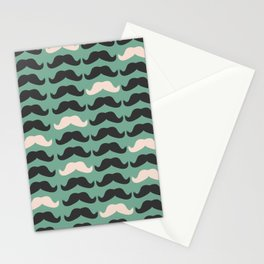 Mustache Life 2 Stationery Cards
