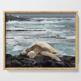 Hawaiian Honu - Sea Turtle Serving Tray