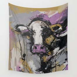 New Breed Cow 1 Wall Tapestry