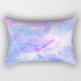 Lavander pink galaxy Rectangular Pillow