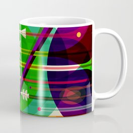 NASA Space Saturn Shuttle Retro Poster Futuristic Explorer Coffee Mug