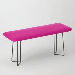 Fuschia Pink Bench