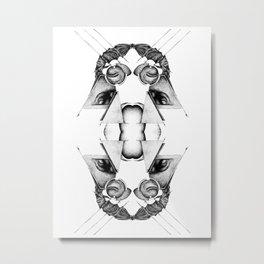 Oscillation Metal Print
