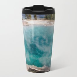 Black Pool, West Thumb Geyser Basin, Yellowstone National Park Travel Mug
