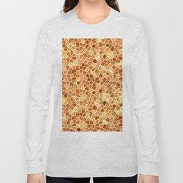 Faux Giraffe Skin Abstract Pattern Long Sleeve T-shirt