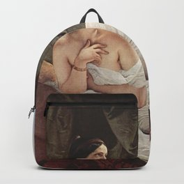 Francesco Hayez - Liegende Odaliske Backpack