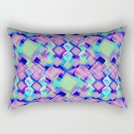 Square Pastel Pink Pattern Rectangular Pillow