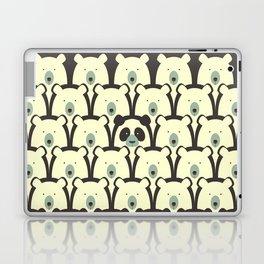 Panda and bears seamless cartoon pattern Laptop & iPad Skin