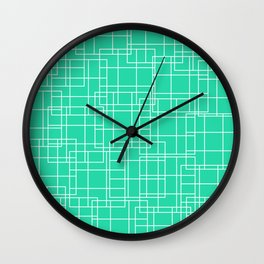 Off The Grid 03 Wall Clock