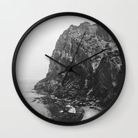 island Wall Clocks featuring Island by Laura O'Connor