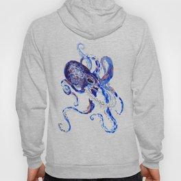Blue Purple Octopus Hoody