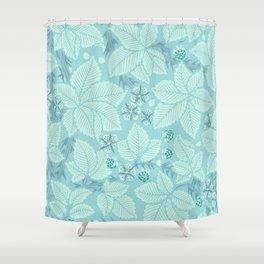 """William Morris """"Bramble"""" 2. Shower Curtain"""
