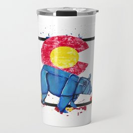 Paper Co Bear- Wild World Of Paper Series Travel Mug