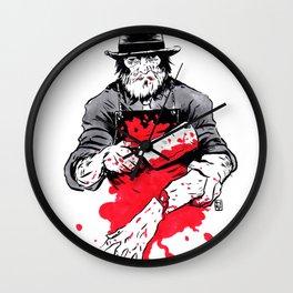 New Butcher Wall Clock