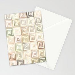 #43. DANIEL - Squares Stationery Cards