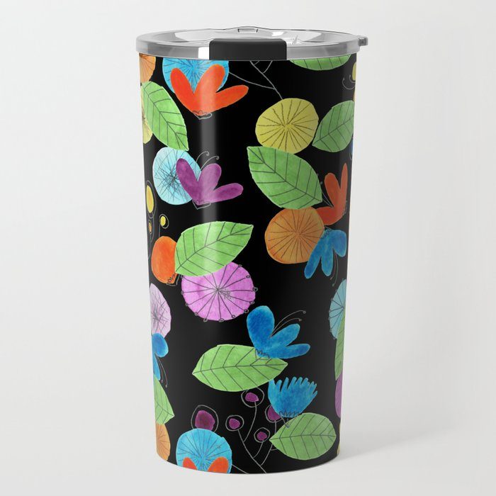 Pattern #1 Travel Mug
