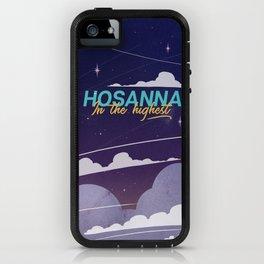 Hosanna In The Highest - Nighttime iPhone Case