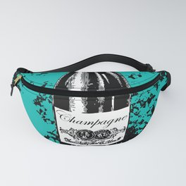 Champagne Explosion Fanny Pack