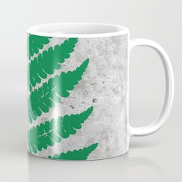Natural Outlines - Fern Green & Concrete #259 Coffee Mug