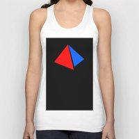 pyramid Tank Tops featuring PYRAMID by anko
