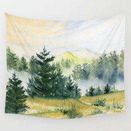 Mountain Vista Wall Tapestry