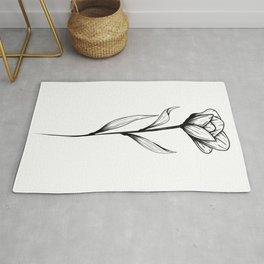 Lone Tulip Rug
