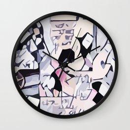 Abstract 100 #7 Wall Clock