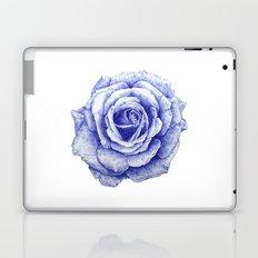 Ballpoint Blue Rose Laptop & iPad Skin