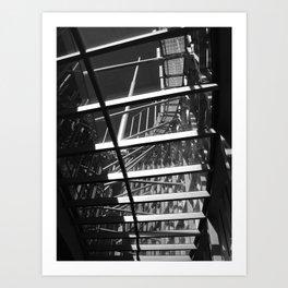 Layered Architecture Art Print