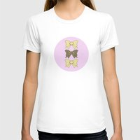 bows T-shirts featuring Vintage Bows part 4  by Ambers Illustration