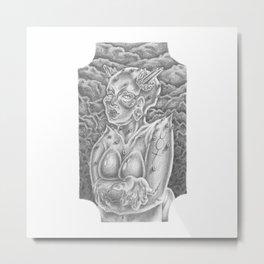 Devil's Little Sister Metal Print