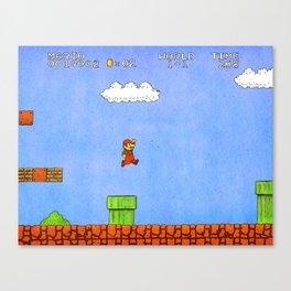 Super Mario Bros. Canvas Print
