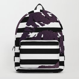 Stripes and Poison Kiss Backpack