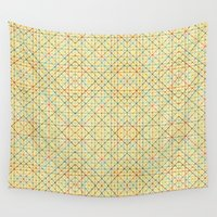 geometry Wall Tapestries featuring Geometry by Goncalo Viana