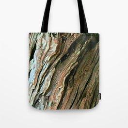 Old Olive tree weathered wood Tote Bag