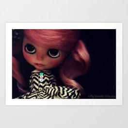 My Delicious Bliss Customs Hey Lola Art Print