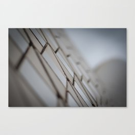 Sydney Opera House Tile Detail Canvas Print