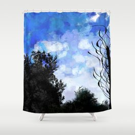 Living woods Shower Curtain