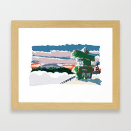 Inukshuk, 7th Heaven Framed Art Print