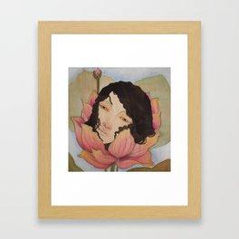 Bloom :: Lotus ::  Framed Art Print