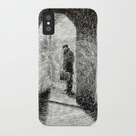 Fingerprint - Arcades iPhone Case