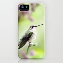 Hummingbird Charm iPhone Case
