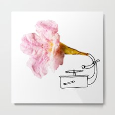Victroflower Metal Print